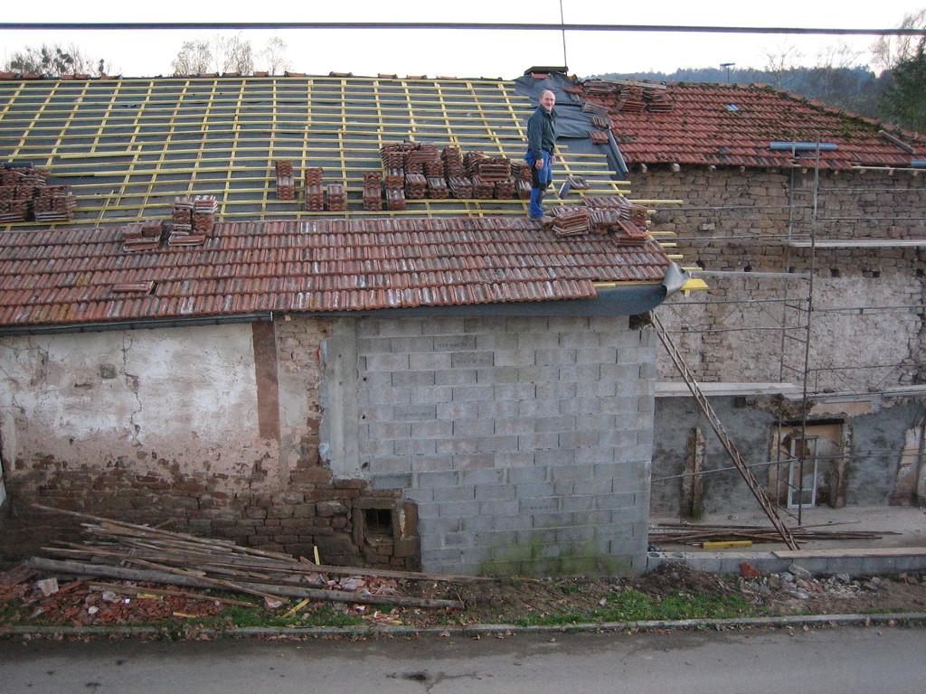 une nouvelle toiture