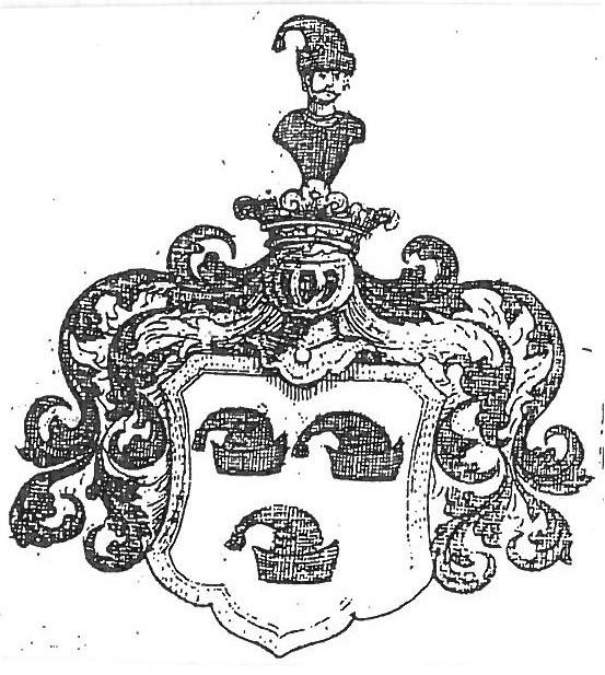 """Wappen um 1770  als """"Türkenmütze"""""""