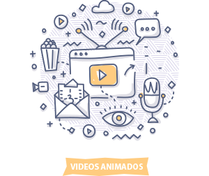icono videos animados
