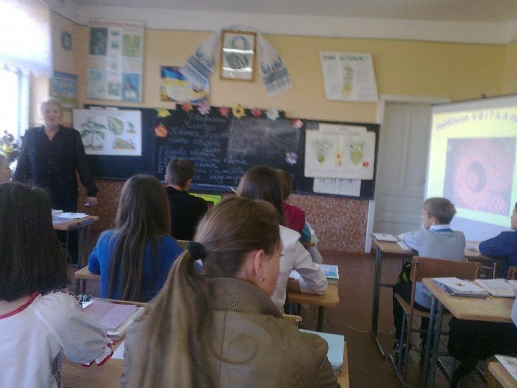 Відкритий урок у вчителя біології Гулянич Г.М.