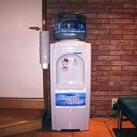 美味しい水。ご自由にご使用ください。