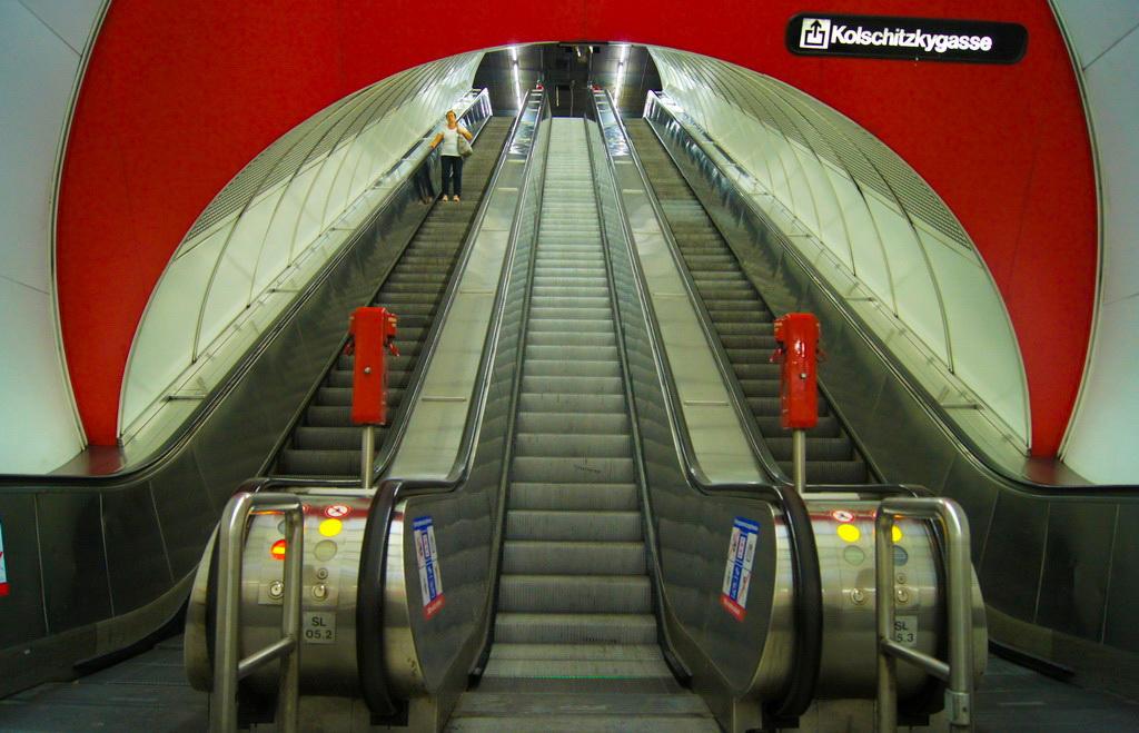 U-Bahn Station, Wien (A)