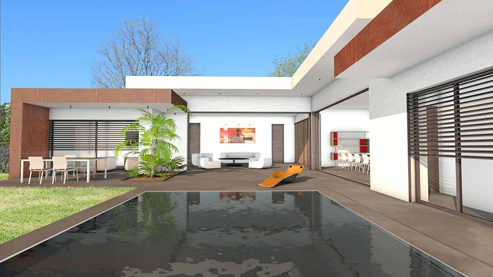 Trouver un plan de maison plans de maisons d 39 architecte for Trouver des plans de maison en ligne