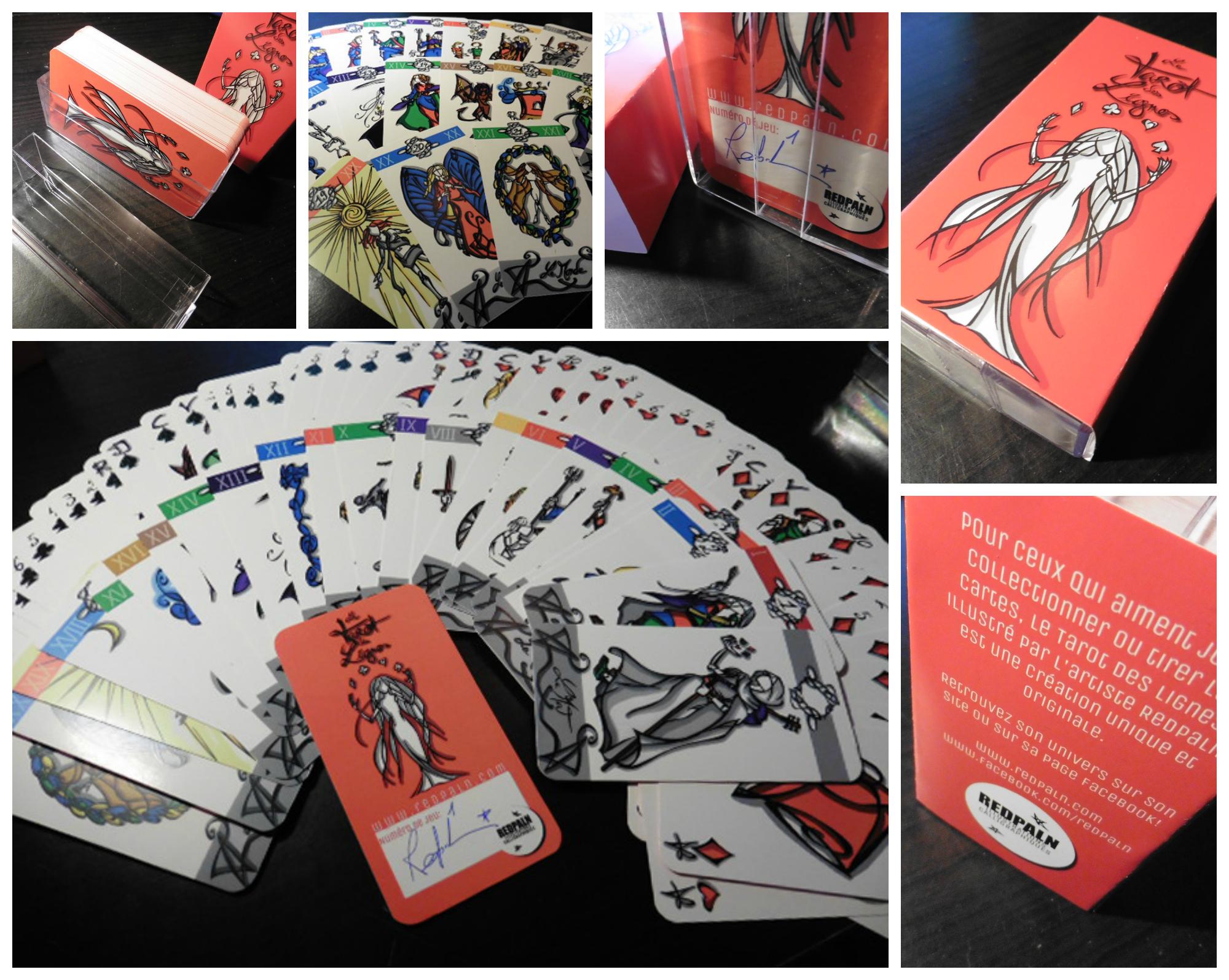 54cf2700b5ab5 Le Tarot des Lignes - Redpaln artiste illustratrice indépendante