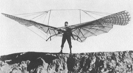 Je vous présente Otto Lilienthal, un fou a qui on a dit que l'homme ne pourrais jamais voler (bon, pour le coup, ca n'a pas trop marché pour lui, mais on va s'arreter la sinon ca colle plus avec mon article.