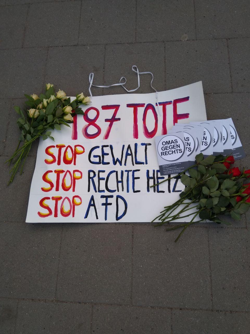 Hamburg: Wahlkampfauftakt, Teil 2…..der Flashmob geht in Serie...
