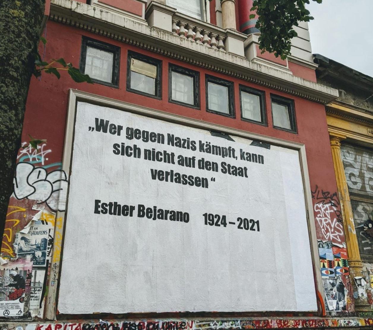 Esther Bejarano verstorben