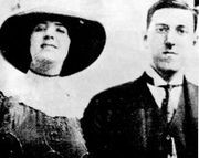 Lovecraft y su esposa, Sonia Greene