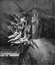 Satanás y su Córte.
