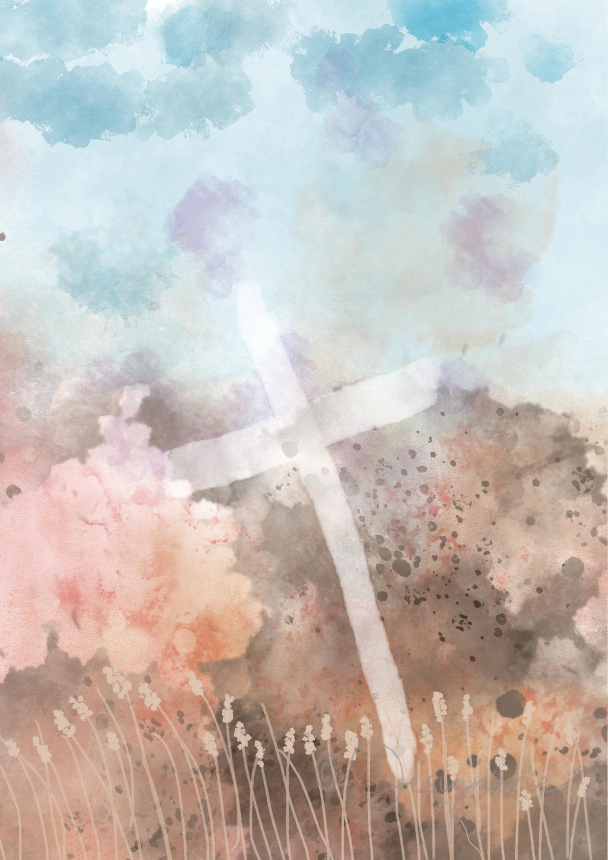 1e schilderij 40-dagentijd - Graankorrel