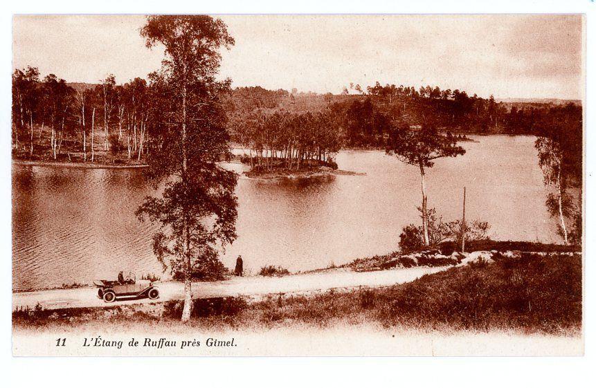 l'étang de Ruffaud vers 1900