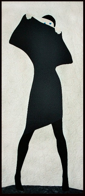 Lady in Black, inspiriert durch M. Chodakowska