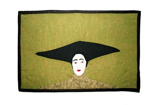 Frau mit Hut II, inspiriert durch M. Chodakowska