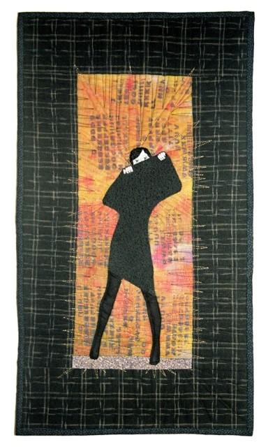 Lady in Black (klein), inspiriert durch M. Chodakowska
