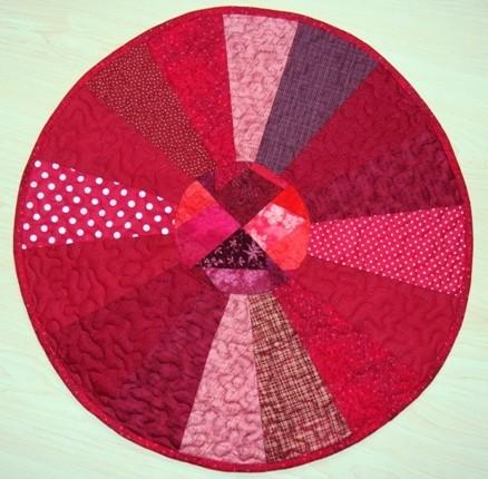 kleiner Roter, 50 cm Durchmesser