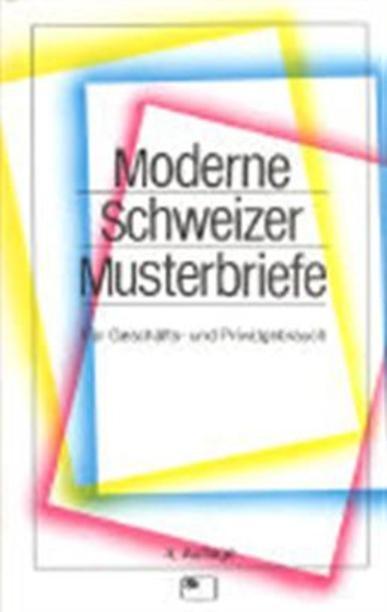 Lütscher Joos Martin Moderne Schweizer Musterbriefe