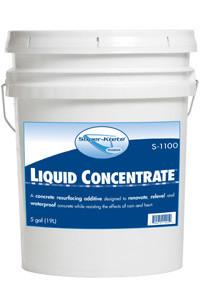 SUPERKRETE, Super-krete, S-1100, Liquido Concentrado, Liquid Concentrate, Co-polymer, Copolímero, Agente de Adhesión, concreto