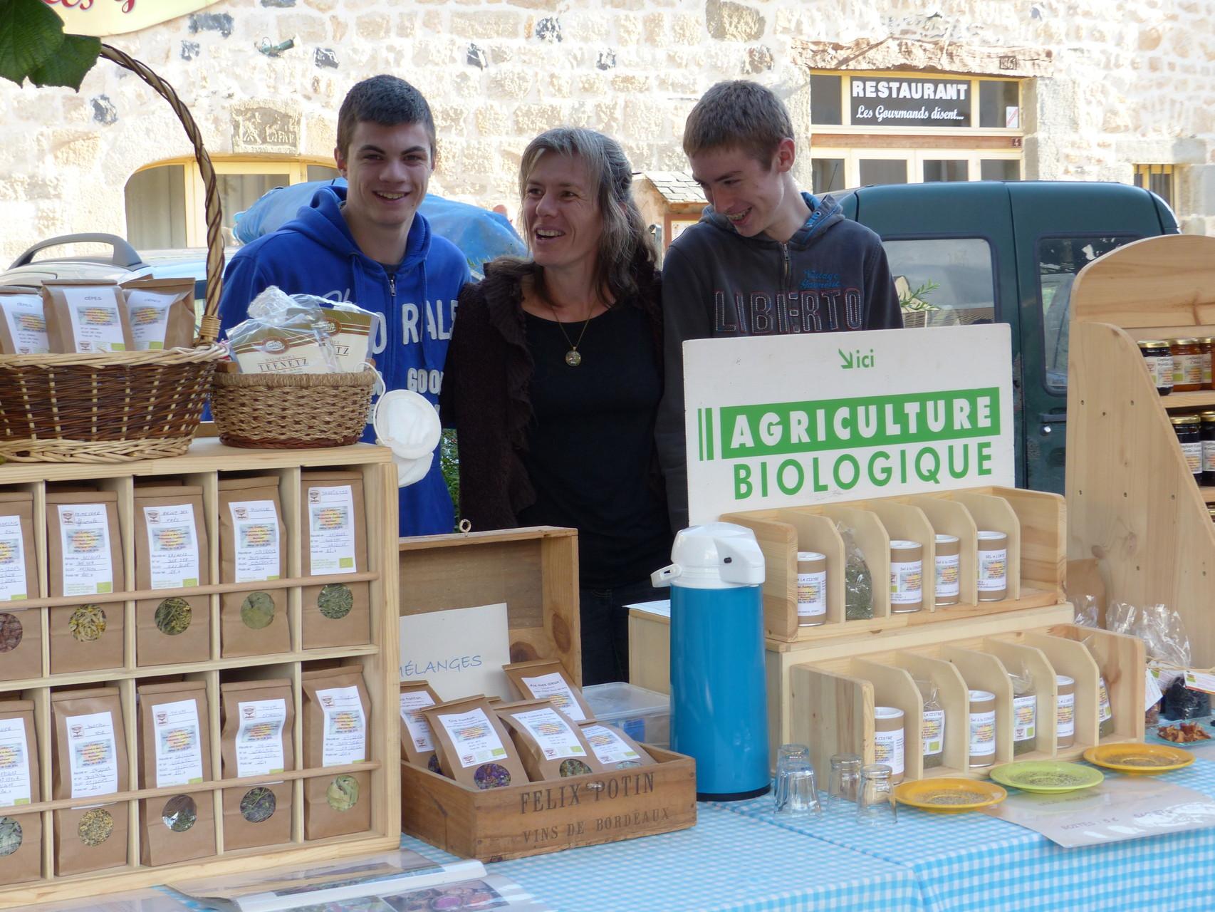 Lous Acampayres, Tisanes, sels aromatisés, confitures