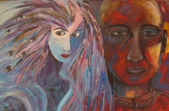 Luna und Sol (40 x 60)