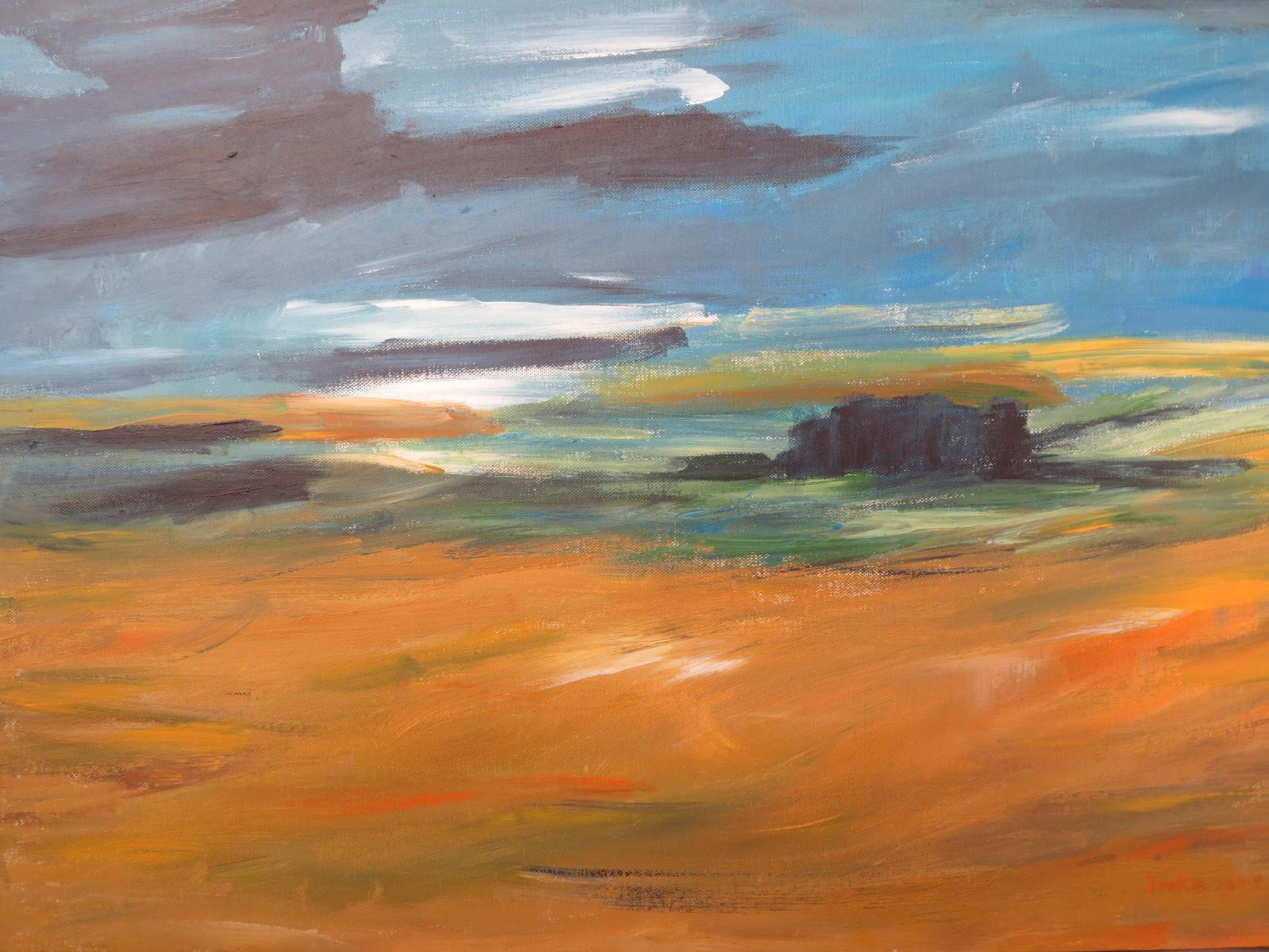 Himmel und Erde (50 x 70)
