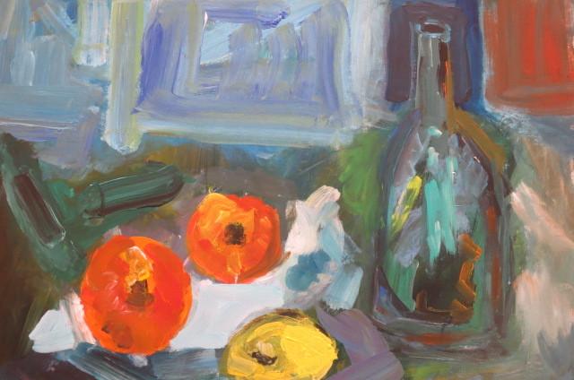Obst, fest und flüssig (50 x 65)