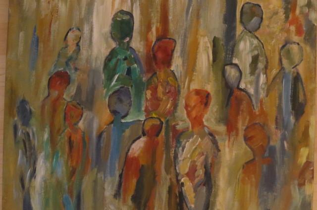 Flüchtlinge (50 x 70)