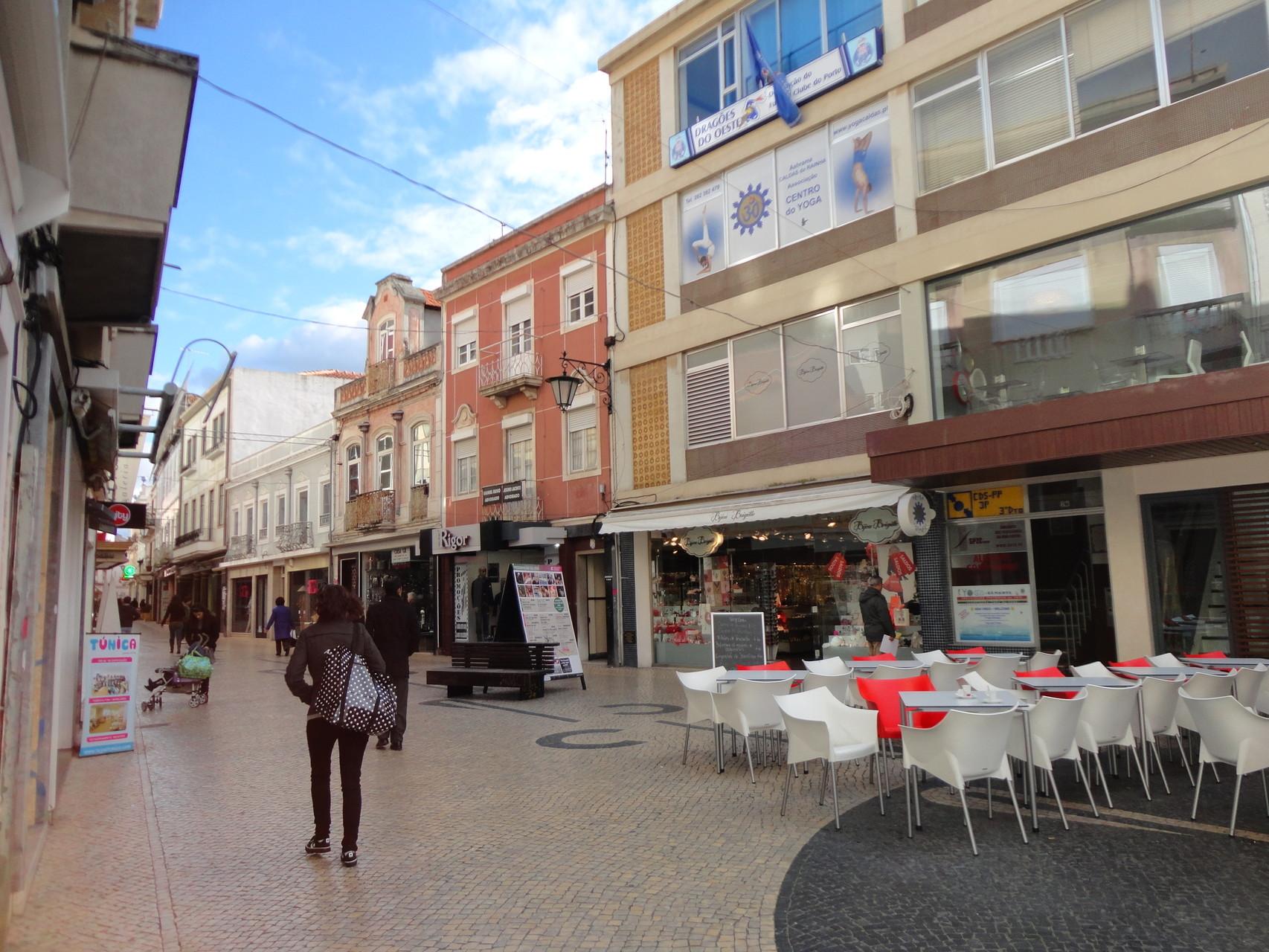 Vista da Esplanada do Café Venézia