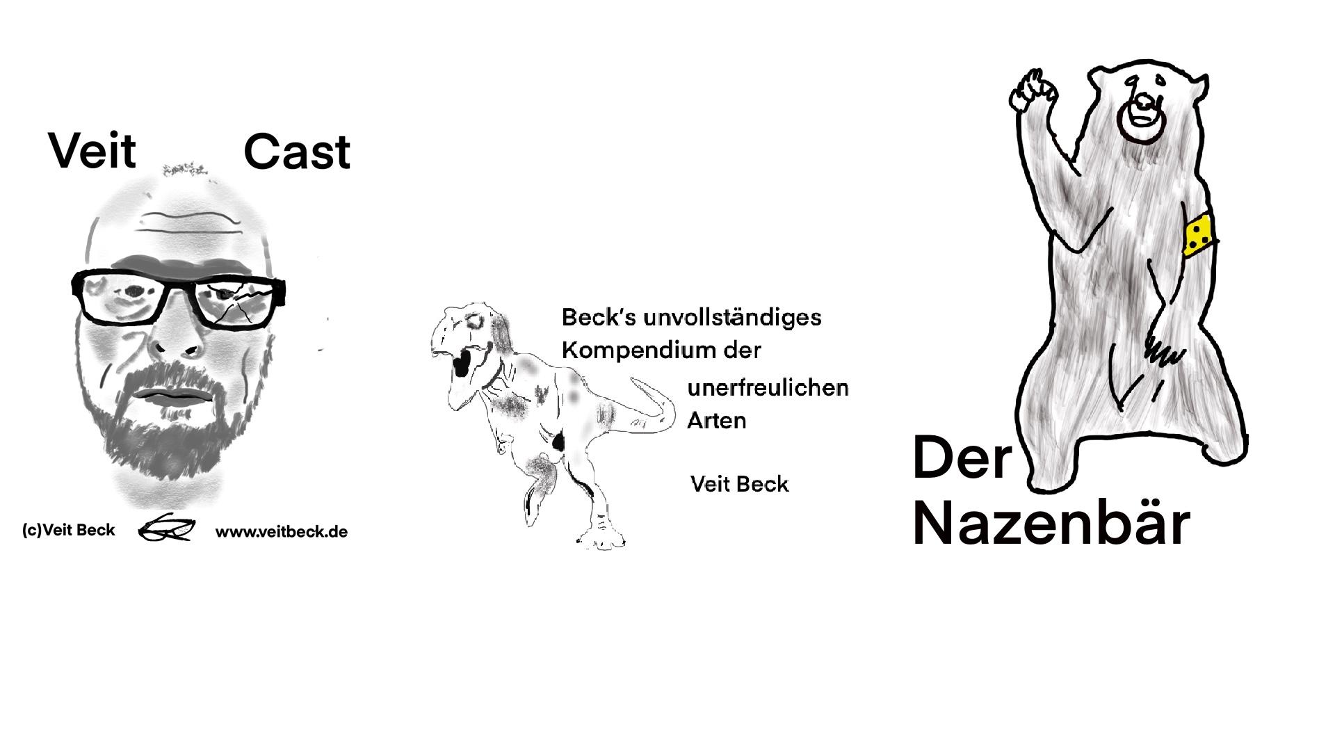 """Der Nazenbär (aus Beck´s unvollständigem Kompendium der unerfreulichen Arten"""")"""