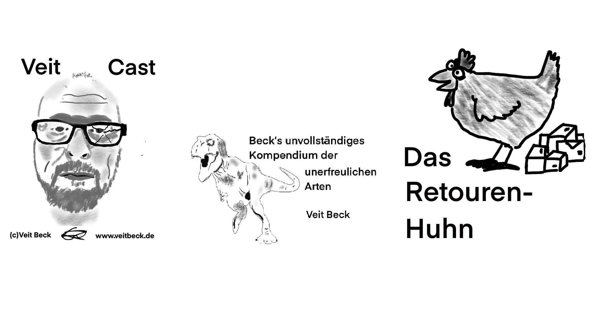 """Das Retourenhuhn (aus """"Beck´s unvollständigem Kompendium der unerfreulichen Arten"""")"""