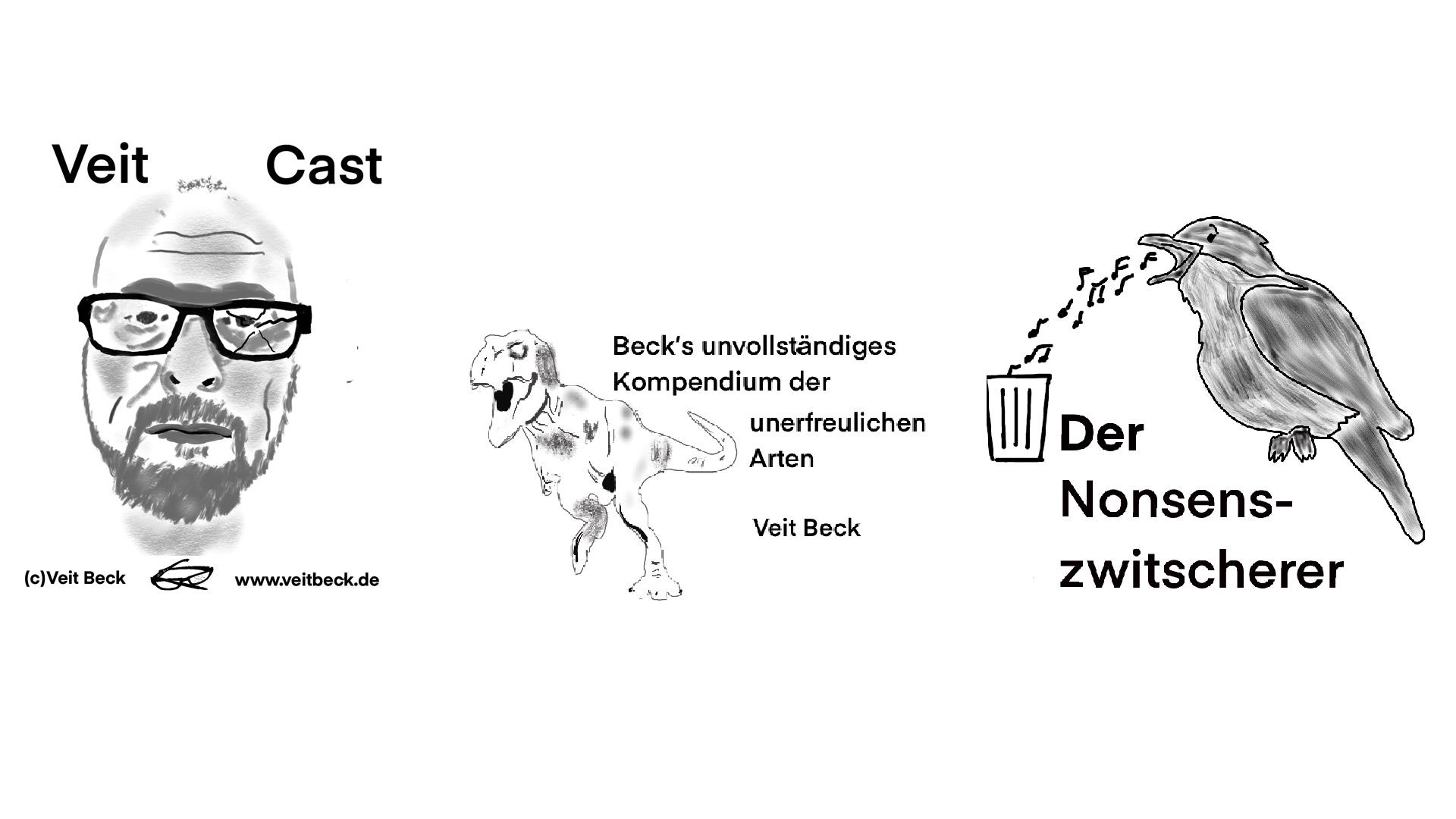 """Der Nonsenszwitscherer (aus """"Beck´s unvollständigem Kompendium der unerfreulichen Arten"""")"""