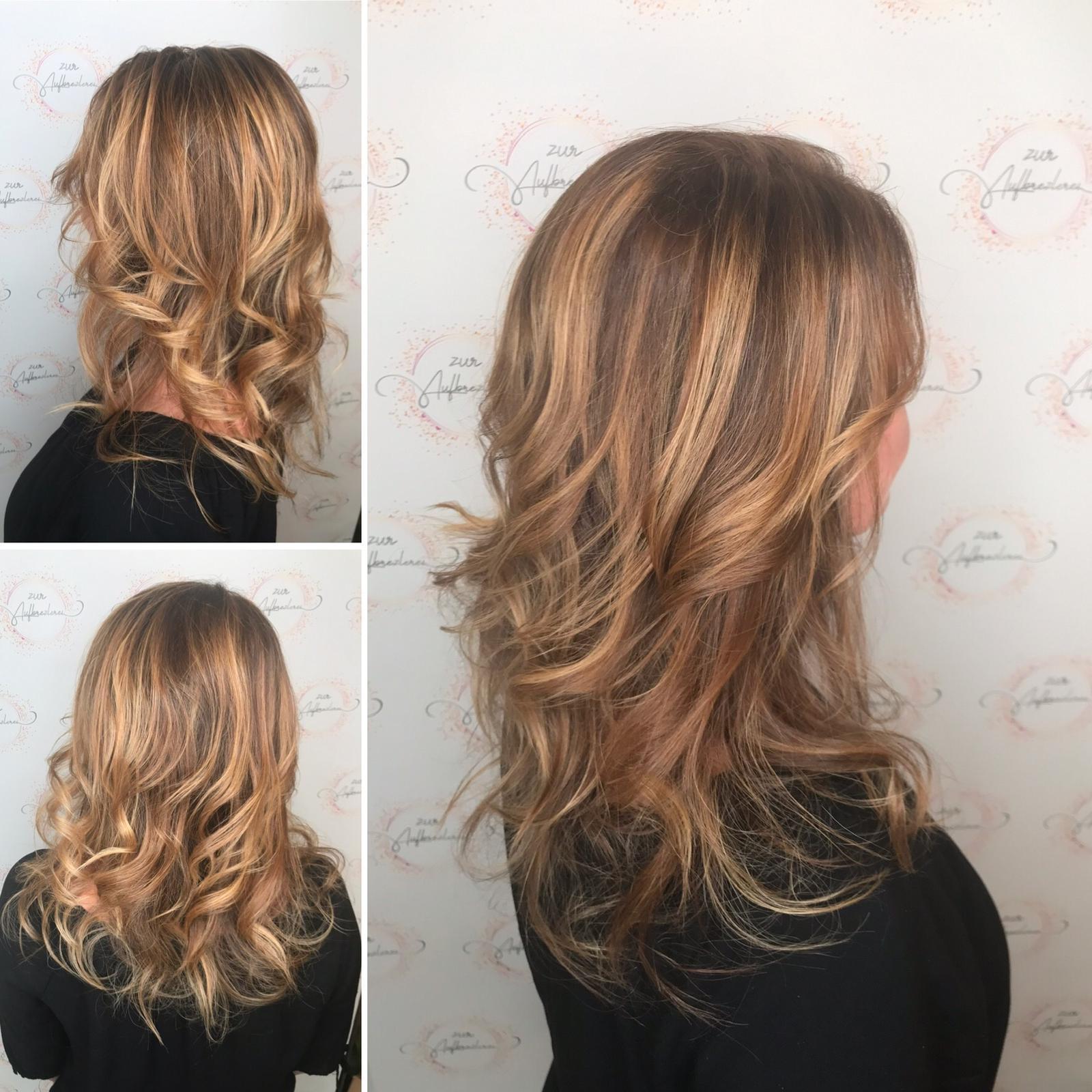 Auch bei langem Haar erhält man mehr Glanz und reduziert Spliss mit dem neuen Calligraphy Cut