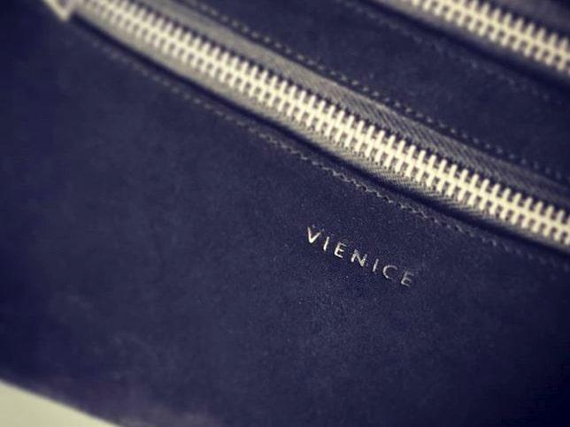 """Ledertasche mit dem Brandstempel gekennzeichnet von """"Vienice"""""""
