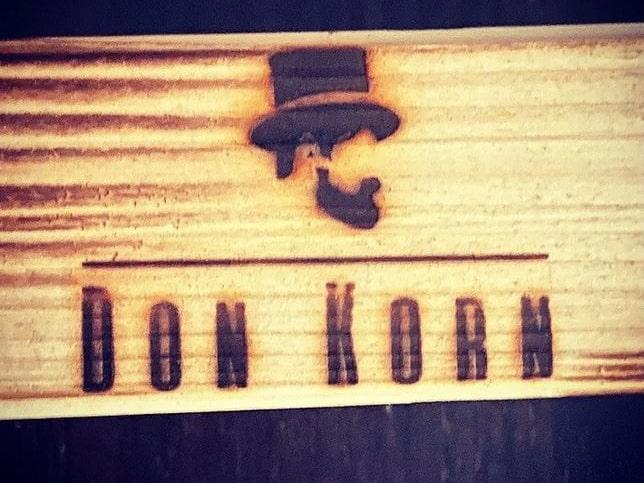 """Branding auf Holz von """"Don Korn"""""""