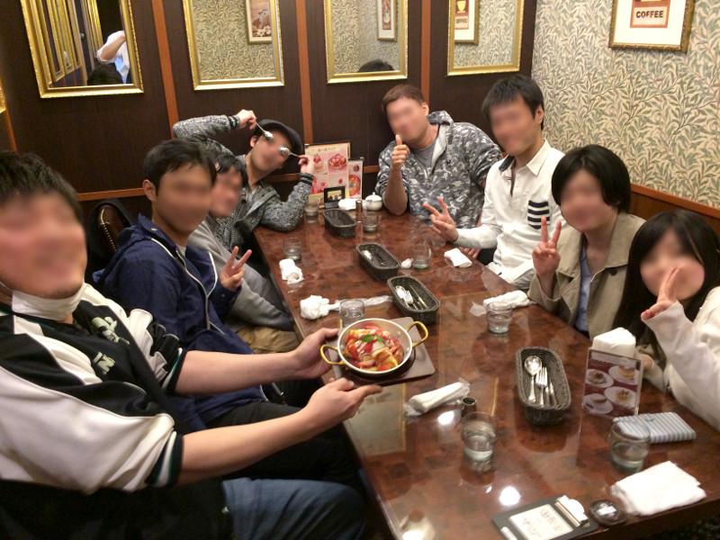 星乃珈琲店 みんなで楽しく食事会☆