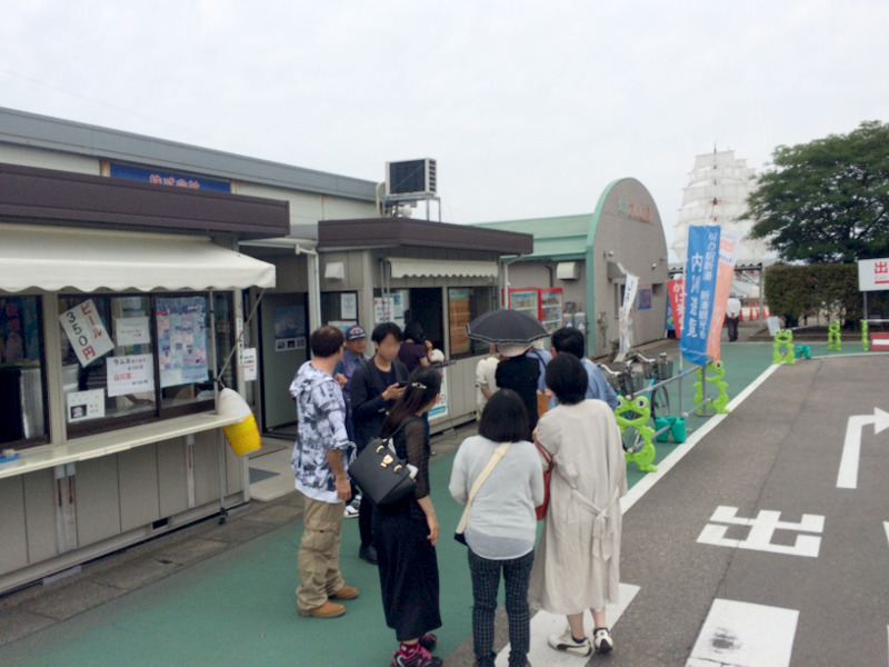 ご飯の後は、新湊観光船で内川遊覧&12橋巡り!
