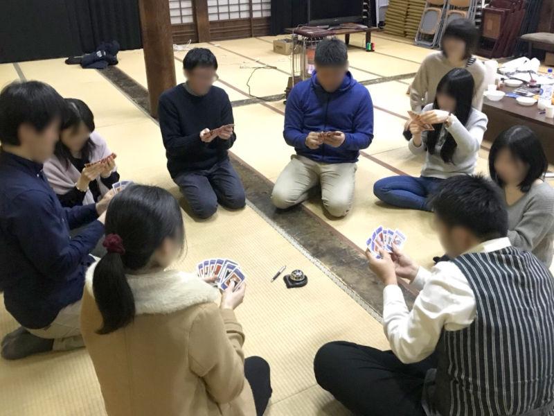 大人数で遊べるカードゲームも奮闘!