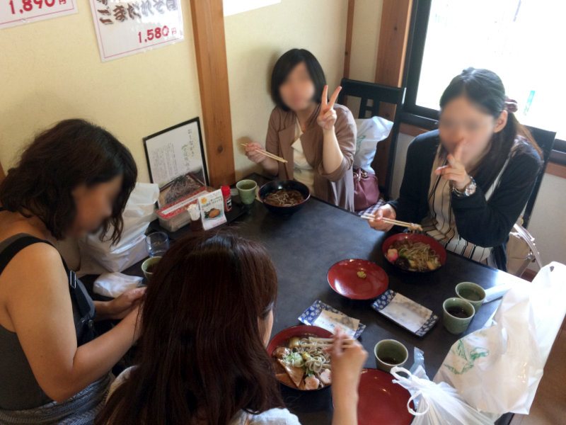 少し遅めの昼ご飯!