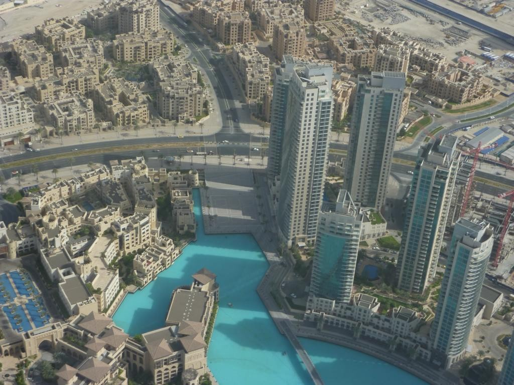 Vom Burj al Khalifa fotografiert