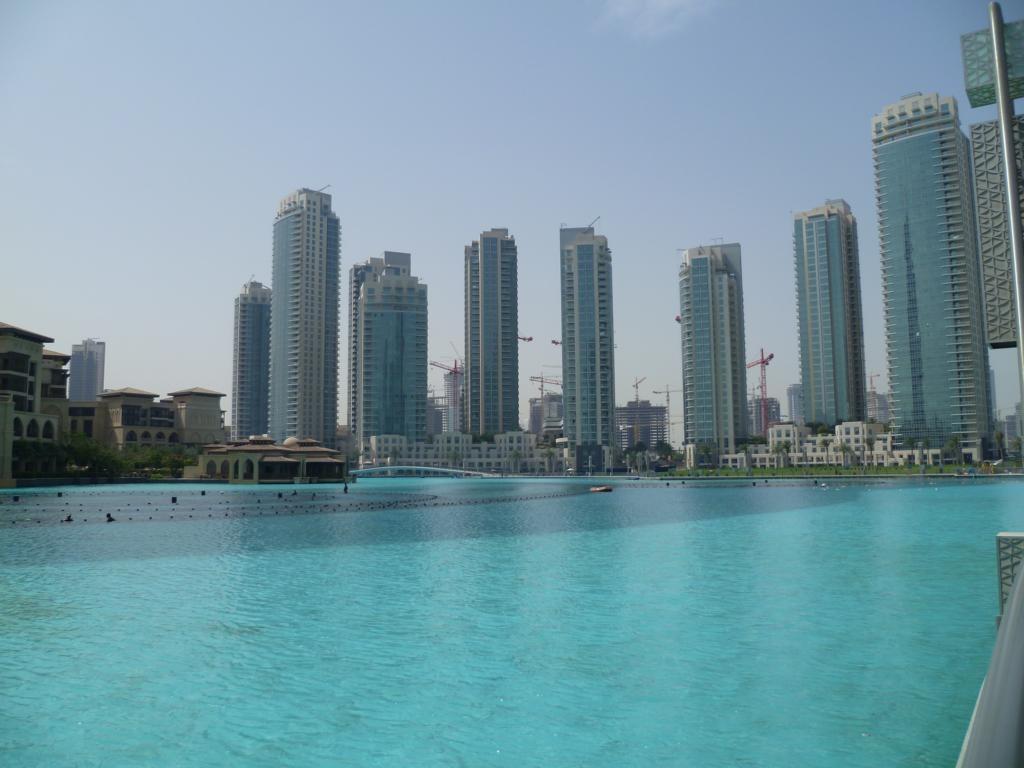 Künstliche Wasserlandschaften