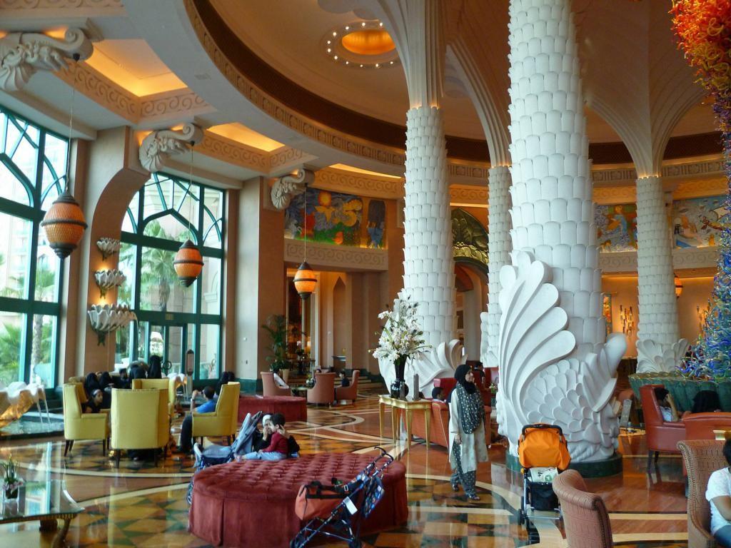 Im Hotel Atlantis