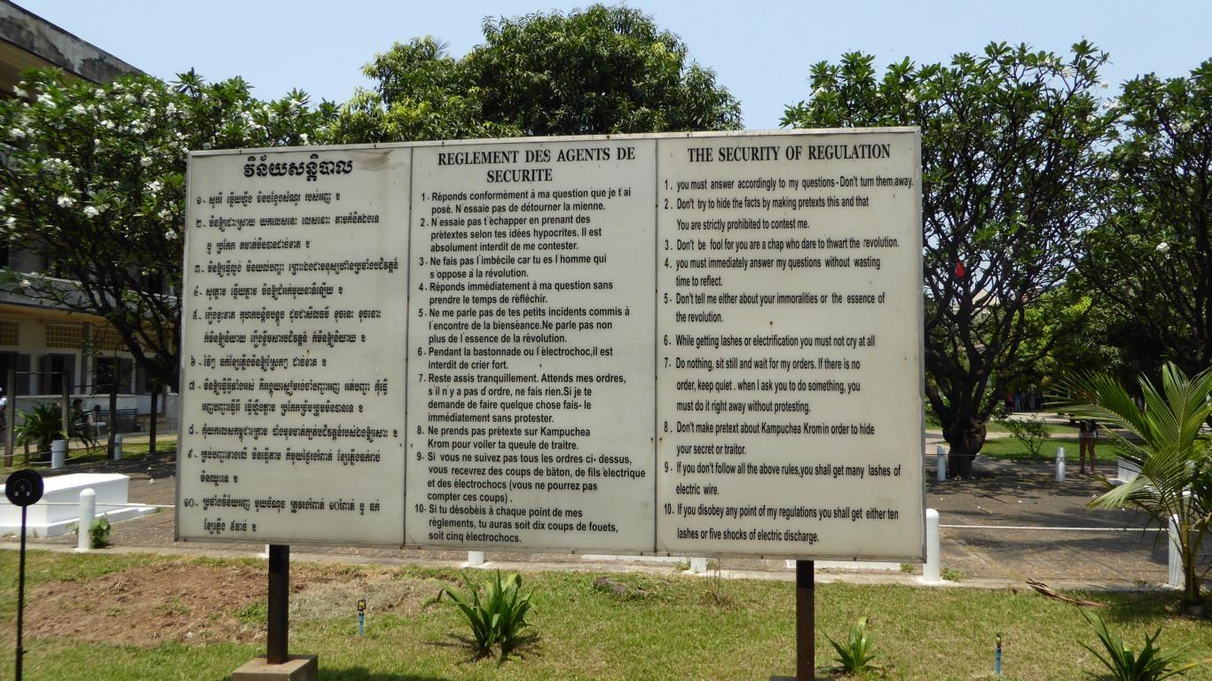 Gedenkstätte Morde der Roten Khmer