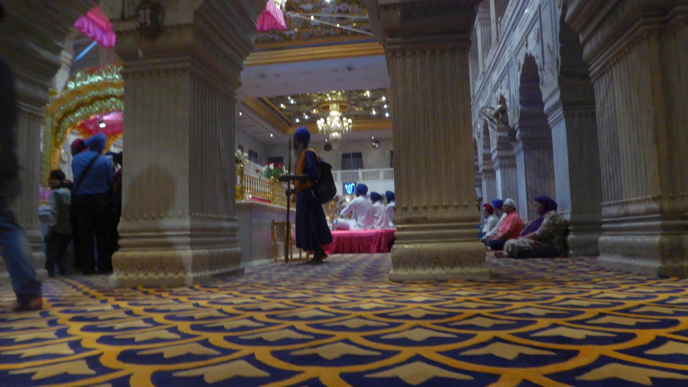 Im Sikh Tempel