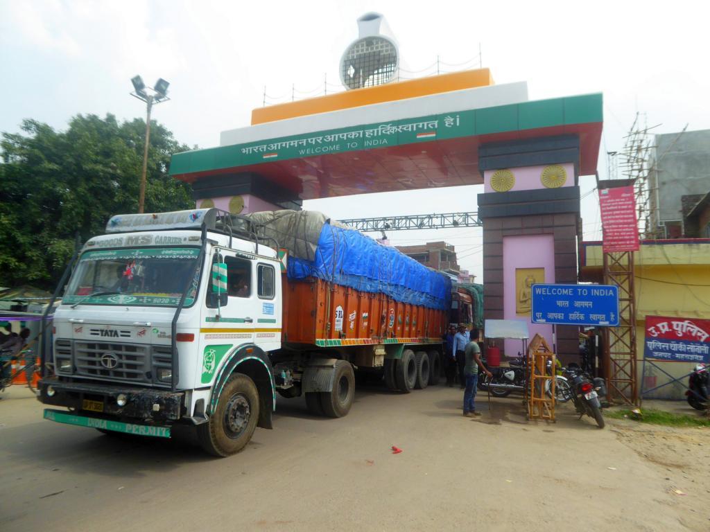 Grenze nach Nepal