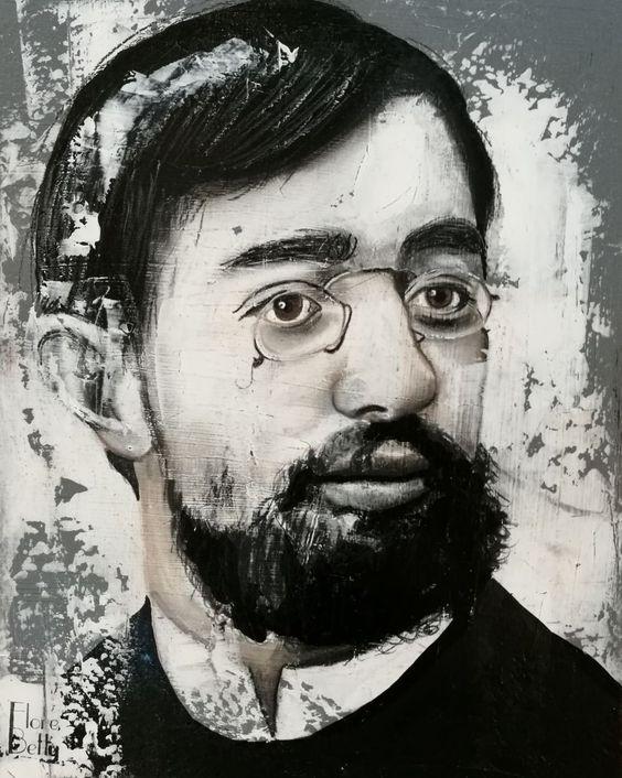 Esquisse sur stuc Toulouse-Lautrec