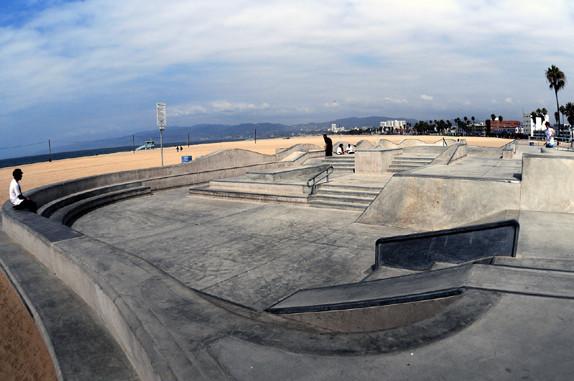 Für Streetskater, Venice Beach Skate-Park