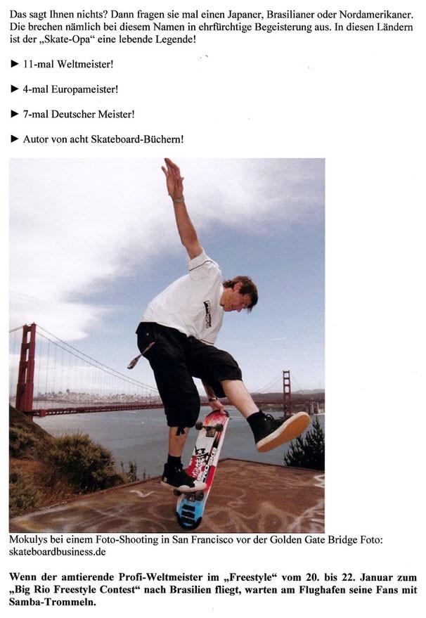 Guenter Mokulys. San Francisco. Golden Gate Bridge, Auf dem Hügel von Marin County.