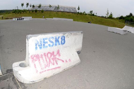 Skate-Park. Am Goldgrund