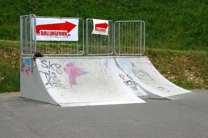Curbs, Skate-Park. Am Goldgrund