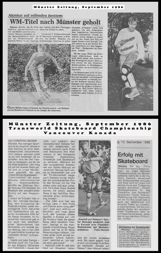 Münster Zeitung 1986