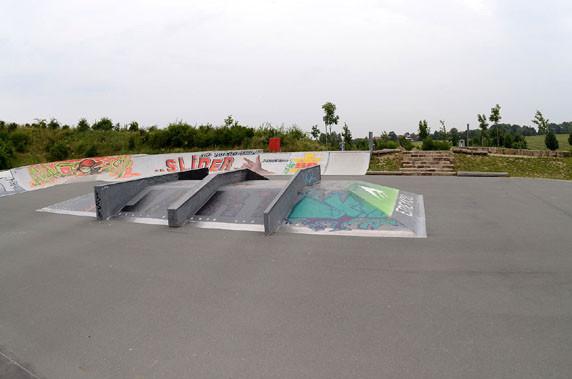 Funbox, Skate-Park. Am Goldgrund